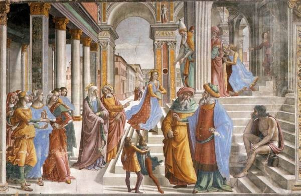 Presentaion Of The Virgin At The Temple